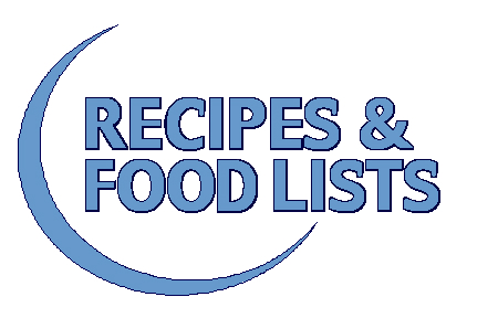 Recipes Food Lists Low Oxalate Diet